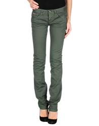 Dek'her Denim Pants Dark Green
