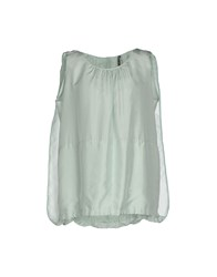 Liviana Conti Topwear Tops Women Light Green