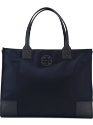 Tory Burch Large 'Ella' Tote Blue