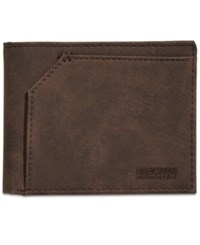 Kenneth Cole Reaction Torrence Bifold Wallet Brown