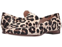 Kate Spade Carima Blush Brown Leopard Haircalf Print Women's Slip On Shoes Animal Print