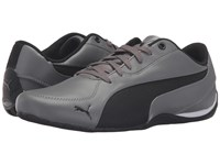 Puma Drift Cat 5 Leather Steel Gray Black Men's Shoes