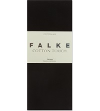 Falke Cotton Touch Tights Black
