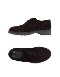 Liu Jo Man Lace Up Shoes Dark Brown