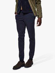 Selected Homme Slim Fit Louie Trousers Sky Captain