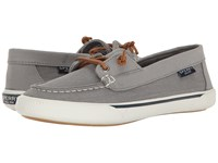 Sperry Quest Rhythm Canvas Grey Women's Slip On Shoes Gray