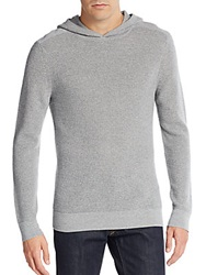 Theory Merino Wool Hooded Thermal Grey