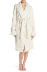 Women's Nordstrom Cable Plush Robe