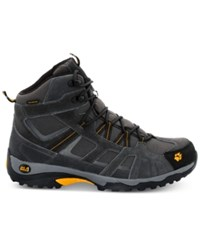 Jack Wolfskin Vojo Mid Texapore Waterproof Hiking Boots Burly Yellow From Eastern Mountain Sports