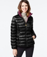 Inc International Concepts Packable Puffer Coat Only At Macy's Black Peony