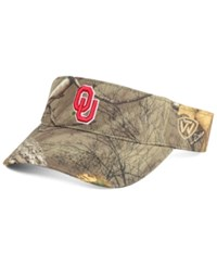 Top Of The World Oklahoma Sooners Rtx Visor Camo