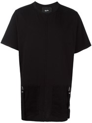 Blood Brother Stylised Front Pockets T Shirt Black