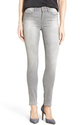 Women's Mavi Jeans 'Alissa' Stretch Skinny Jeans Light Grey Tribeca