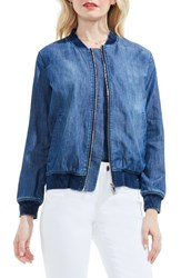 Vince Camuto Women's Two By Washed Denim Bomber Jacket