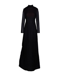 Barbara Casasola Long Dresses Black