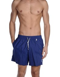 Loro Piana Swimwear Swimming Trunks Men Dark Blue