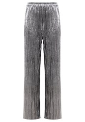Noisy May Nmamazing Trousers Silver