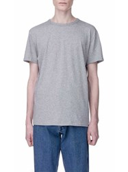 Our Legacy Perfect T Shirtgrey Melange Army Jersey