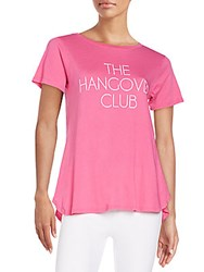 Wildfox Couture The Hangover Club Tee Magenta