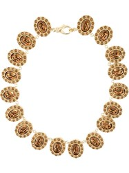 Givenchy Rivia Re Style Necklace Metallic