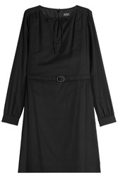 A.P.C. Belted Dress Black