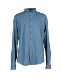 Dirk Bikkembergs Denim Shirts