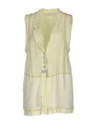 Daniela Dalla Valle Elisa Cavaletti Cardigans Light Yellow