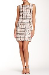 Endless Rose Rotterdam Sequin Dress Beige