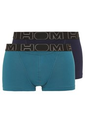 Hom Ho1 2 Pack Shorts Black Blue Duck