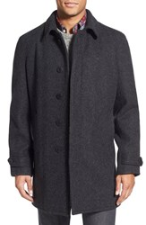 Men's Schott Nyc Wool Raglan Car Coat