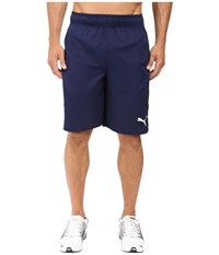 Puma Formstripe Woven 10 Shorts Peacoat White Men's Shorts Blue
