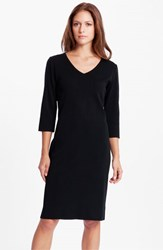 Ming Wang Women's V Neck Dress