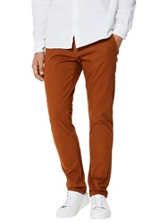 Selected Femme Homme Three Paris Chinos Mustard