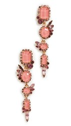 Elizabeth Cole Milly Earrings Pink