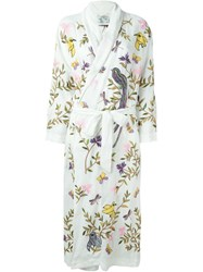 Forte Forte Embroidered Robe Coat White