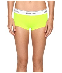 Calvin Klein Underwear Modern Cotton Boyshorts Bright Flash Women's Yellow