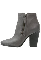 Michael Michael Kors Denver Ankle Boots Charcoal Grey