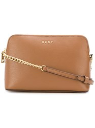 Donna Karan Satton Cross Body Bag Brown