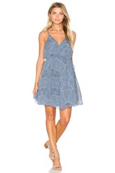 Bcbgeneration Pleated Tank Dress Blue