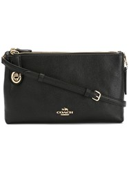 Coach Adjustable Strap Crossbody Bag Black