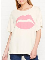 Wildfox Couture First Kiss Sonic T Shirt White