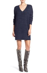 Women's Glamorous V Neck Sweater Dress