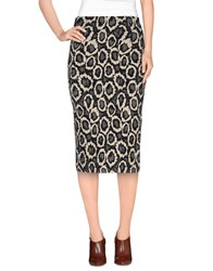 Imperial Star Imperial Skirts Knee Length Skirts Women Beige