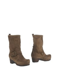 Islo Isabella Lorusso Ankle Boots Khaki