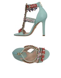 Elie Saab Sandals Light Green