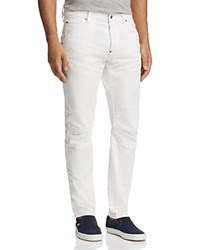 G Star Raw 3D Tapered Slim Fit Jeans Light Aged Restored 130