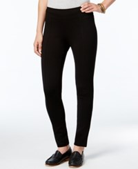 G.H. Bass And Co. Ponte Compression Leggings Black