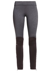 Under Armour Elements Tights Carbon Heather Grey