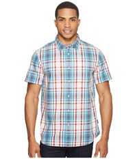 The North Face Short Sleeve Passport Shirt Vintage White Plaid Men's Short Sleeve Button Up Multi