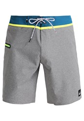 Quiksilver Thevee Swimming Shorts Quiet Shade Light Grey